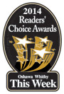 2014 Readers Choice award for best Oshawa Whitby Dentists.