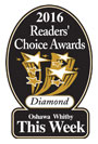 2016 Readers Choice award for best Oshawa Whitby Dentists.
