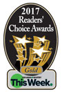 2017 Readers Choice award for best Oshawa Whitby Dentists.